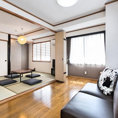 【40平米のお部屋を貸切】キッチン付きの3DKで広々とご宿泊♪コンドミニアムステイプラン【朝食無料】