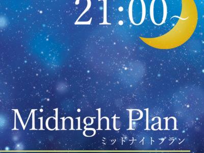 【21時以降にチェックインの方必見!】ミッドナイトプラン☆彡(素泊り)